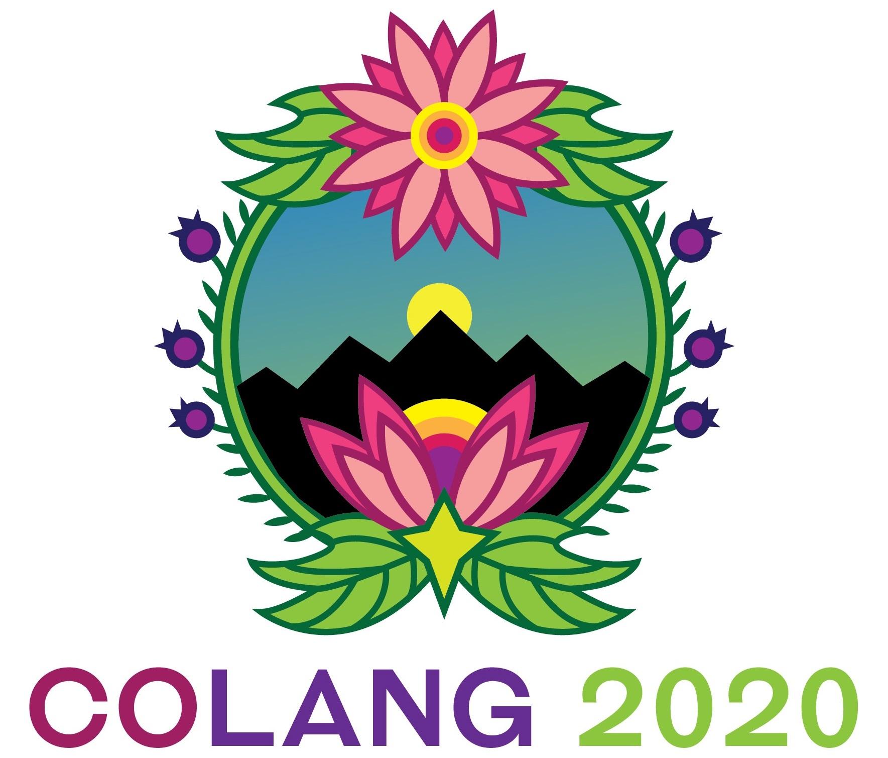 CoLang 2020 Sun Logo