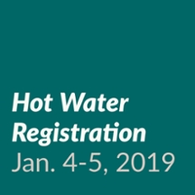 Hot Water Registration Jan. 4-5, 2019