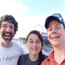 Image of Dr. Scott Samuels, Dan Drecktrah and Meghan Lybecker