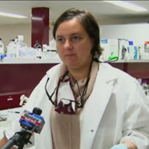 Dr. Monica Serban's work was highlighted by ABC Montana