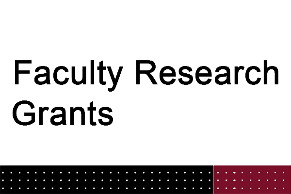 faculty research grants