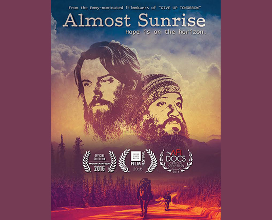 Almost sunrise film poster