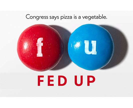 fed up poster image