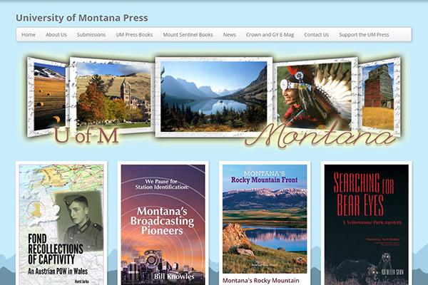 um press home page
